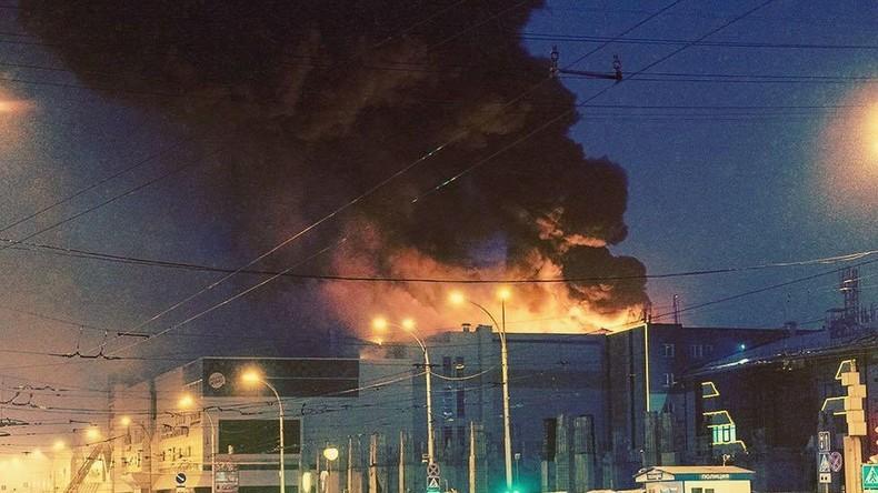 LIVE: Kemerowo trauert um die Opfer des Brandes in Einkaufszentrum