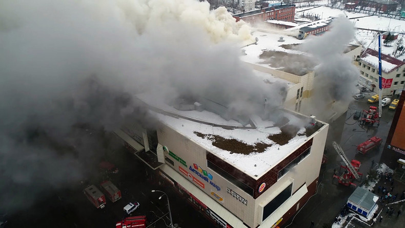 Im Einkaufszentrum von Kemerowo bricht erneut Feuer aus – Zahl der Opfer steigt auf mindestens 64