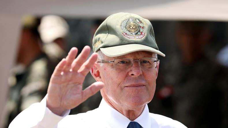 """Peru: """"Korruptionsmaschine Odebrecht"""" bringt Präsidenten Kuczynski zu Fall"""
