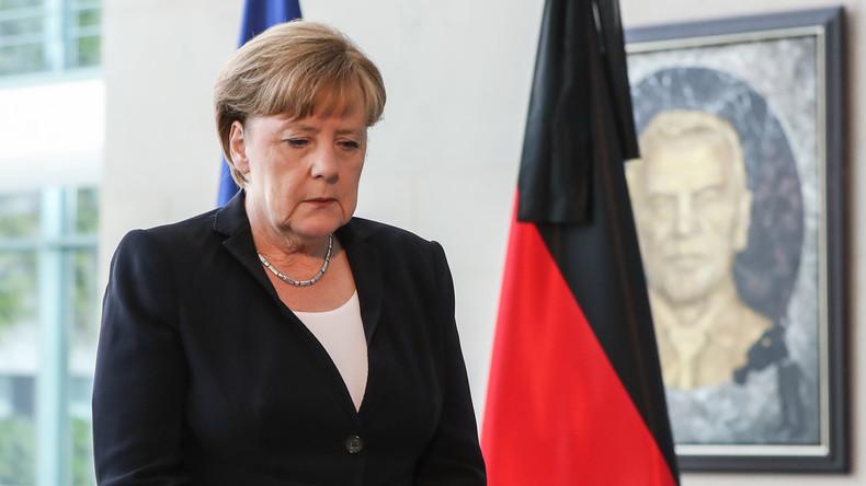 Merkel spricht Russland nach Brandkatastrophe ihr Mitgefühl aus
