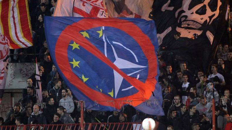 Umfrage offenbart: Über 80 Prozent der Serben sind gegen NATO-Beitritt