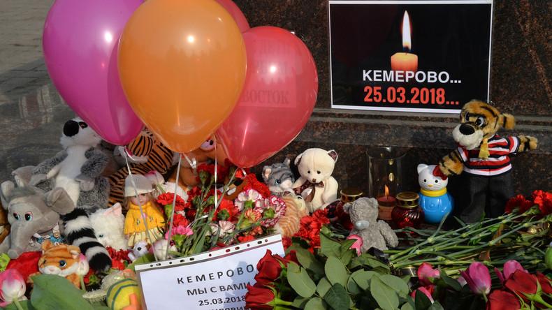 Wladimir Putin erklärt 28. März zum nationalen Trauertag wegen Brandkatastrophe in Kemerowo