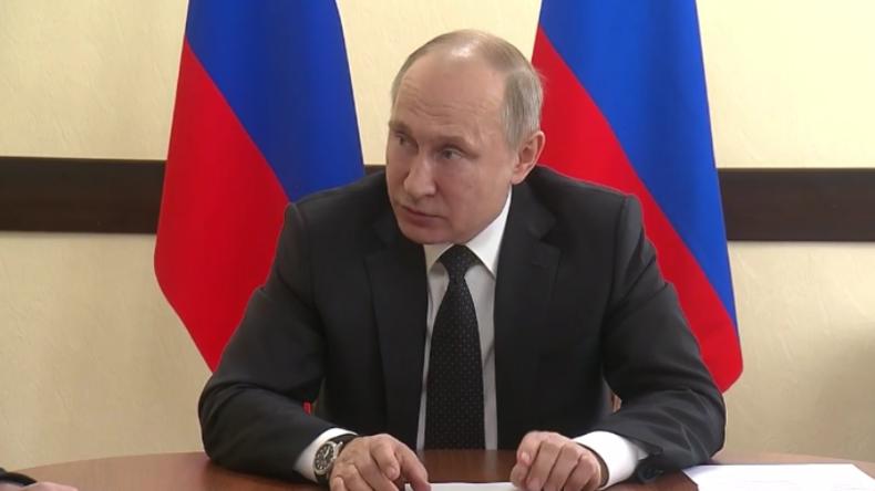 """Putin trifft sich mit Vertretern in Kemerowo: """"Wie konnte so etwas passieren?"""""""