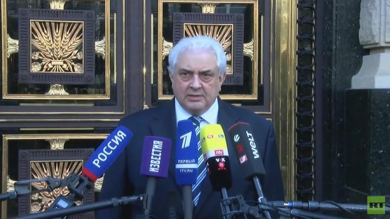 Russland schließt US-Konsulat in St. Petersburg