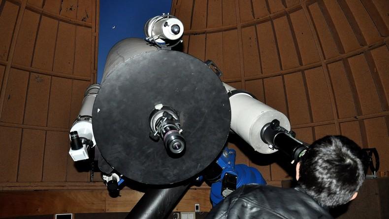 Russland installiert Hightech-Teleskop in Brasilien zum Aufspüren von kosmischen Gefahren