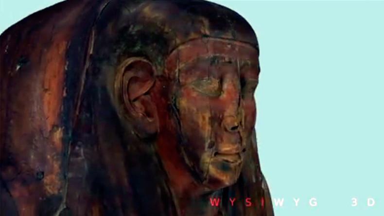 2.500 Jahre alte ägyptische Mumienreste in Sarg in Australien entdeckt