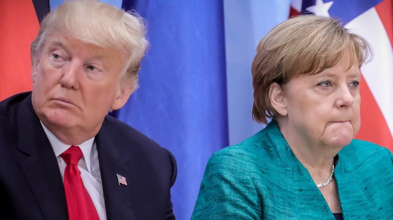 Merkel und Trump führen Telefongespräch über Zölle, China und Russland