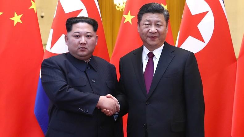 Besuch in China: Kim Jong-un nennt seine Bedingungen für die Beseitigung von Atomwaffen