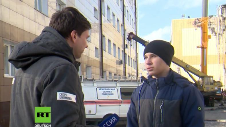 Es gab auch Helden in Kemerowo: 17-Jähriger rettete blind drei Kinder aus brennendem Gebäude