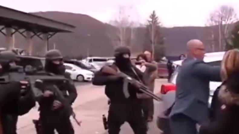 Festnahme von Serbenpolitiker Djuric im Kosovo: Video zeigt brutales Vorgehen der Spezialkräfte