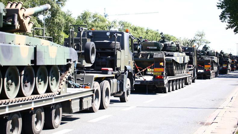 NATO-Ostflanke: EU-Kommission will Europa panzertauglich machen