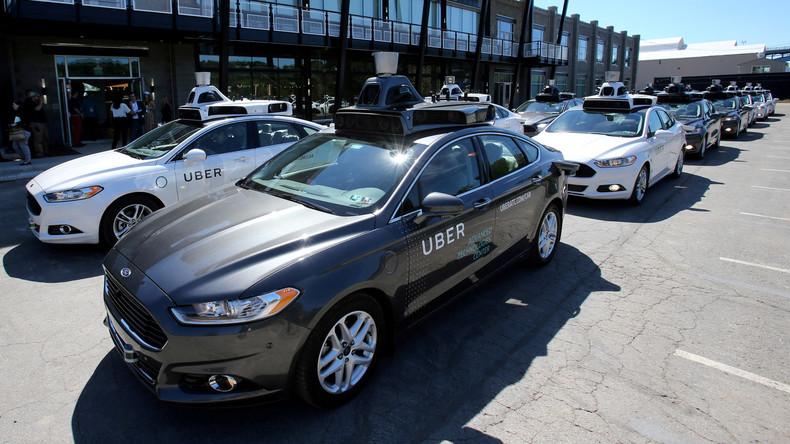 Uber stellt nach tödlichem Unfall Testfahrten von Roboterwagen in Kalifornien ein
