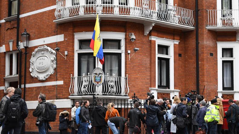 Quelle: Internetverbindung von Julian Assange in ecuadorianischer Botschaft in London gekappt