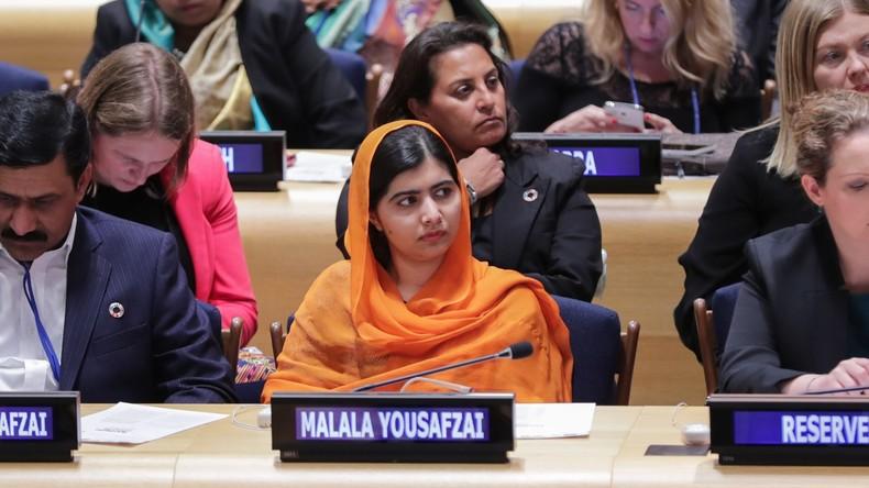 Friedensnobelpreisträgerin Malala Yousafzai sechs Jahre nach dem Anschlag auf sie wieder in Pakistan