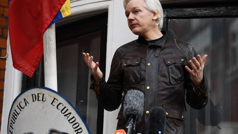 WikiLeaks-Quelle zu RT: Ecuador hat Internetzugang von Assange wegen Katalonien-Tweets gekappt