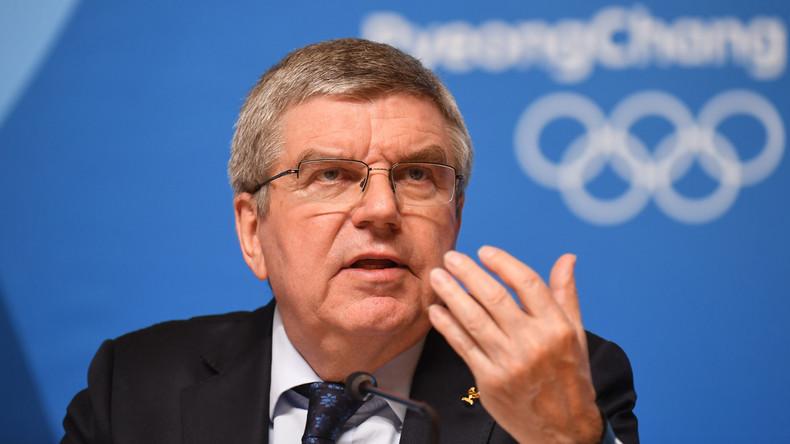 IOC-Chef Thomas Bach zu Besuch in Nordkorea eingetroffen