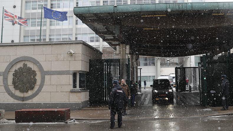 Moskau: London hat einen Monat Zeit, um sein diplomatisches Personal zu reduzieren