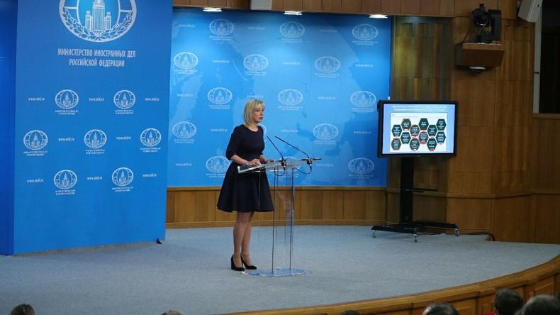 """""""Boris, lesen Sie Dostojewski!"""" – Maria Sacharowa reagiert auf Anschuldigungen der Briten (Video)"""