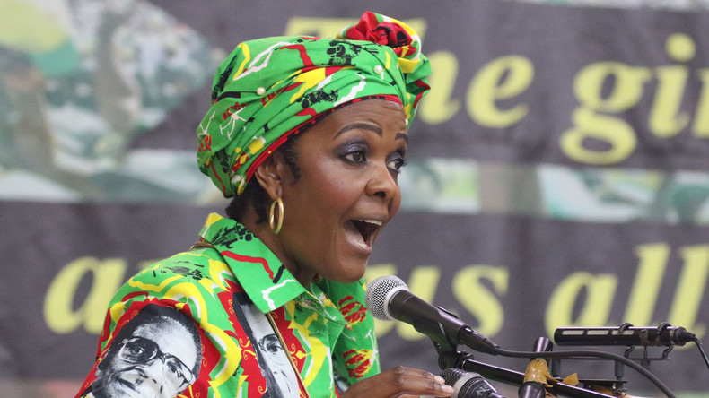 Goldgräberstimmung auf Grace Mugabes Farm: Simbabwes einst mächtigste Frau leidet unter Willkür