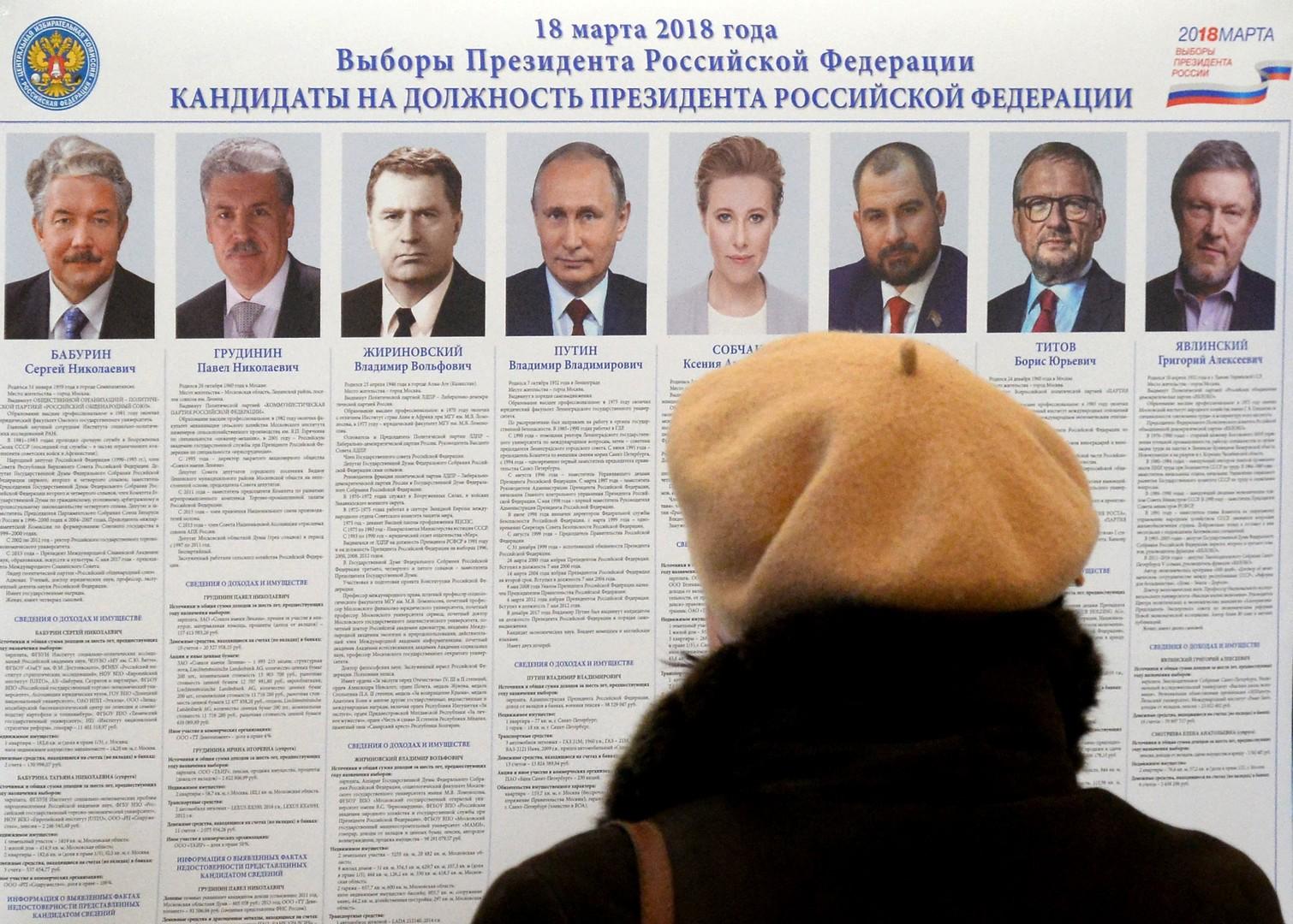 Wahlbeteiligung der Russen aktuell bereits bei 51,97 Prozent