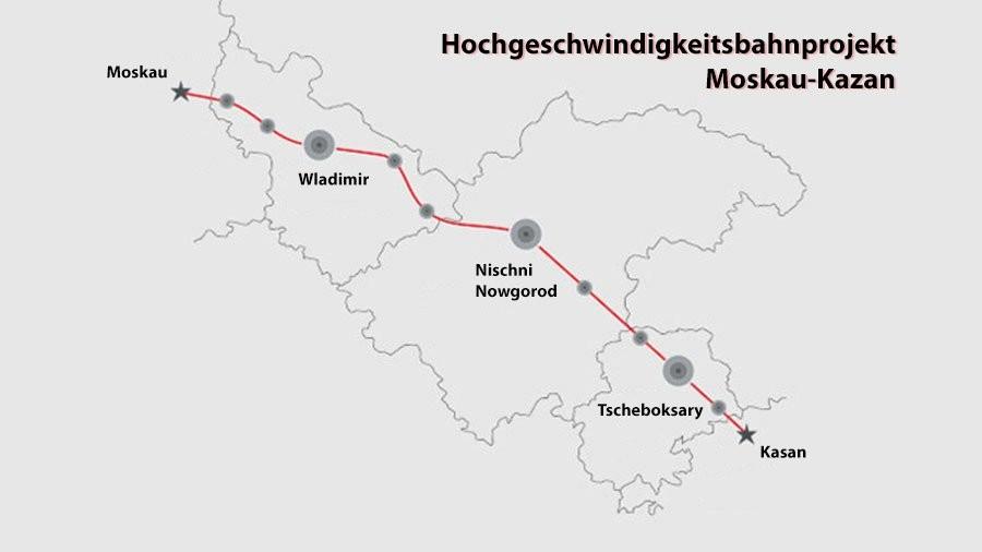 """""""Buono viaggio"""": Russisches Hochgeschwindigkeitsbahnprojekt zieht weiteren EU-Investor an"""