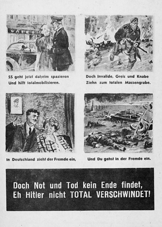 Propagandakrieg: Wie die Sowjets versuchten, die Nazi-Truppen zur Kapitulation zu zwingen