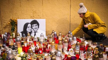 Die Slowaken betrauern den Doppelmord an dem Reporter  Ján Kuciak und seiner Lebensgefährtin Martina Kušnírová.