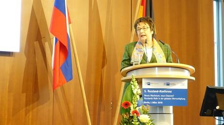 Auch die Bundeswirtschaftsministerin Brigitte Zypries war im Gegensatz zum Vorjahr auf dem diesjährigen Forum anwesend.