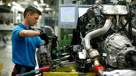 Im Mercedes-Werk Sindelfingen