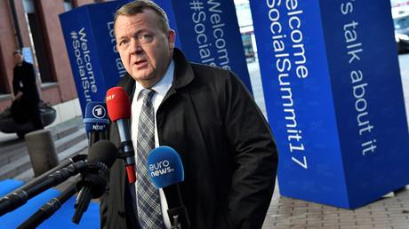 Der dänische Ministerpräsident Lars Løkke Rasmussen