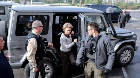 Verteidigungsministerin Ursula von der Leyen zu Besuch in Bagdad am 10. Februar.