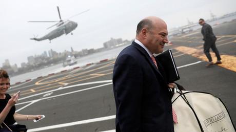 Trumps Wirtschaftsberater Gary Cohn kehrt dem US-Präsidenten den Rücken