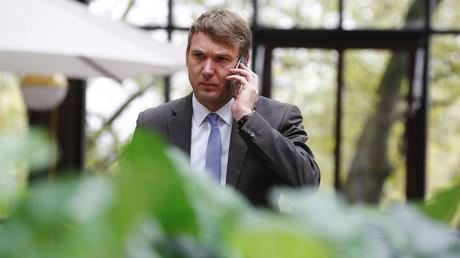 Der Fraktionsvorsitzende der AfD in Sachsen-Anhalt, André Poggenburg.