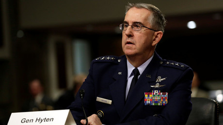 Der Kommandant des US Strategic Command, General John Hyten