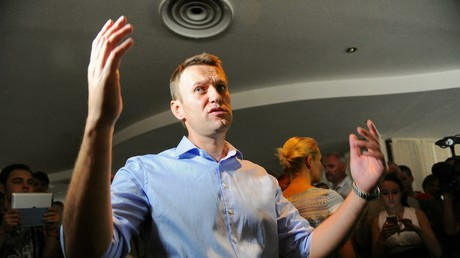 Der politische Aktivist Alexei Nawalny