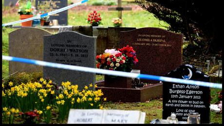 Am Wochenende exhumierten britische Ermittler auf einem Friedhof in Salisbury den Leichnam von Sergei Skripals Ehefrau Ljudmila.