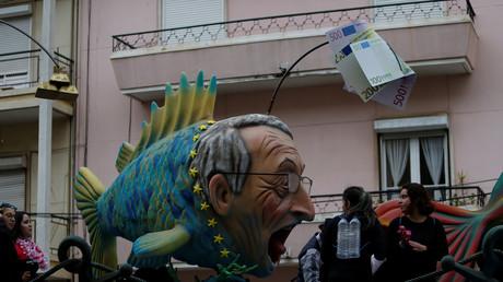 Karneval in Torres Vedras, Portugal, 11.Februar 2018