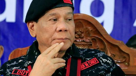 Hat es nicht so mit Menschenrechts-Inspekteuren: Der philippinische Präsident Rodrigo Duterte.