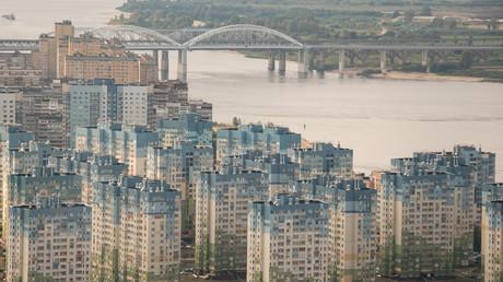Viele Russen leben auch heute noch in Plattenbauten aus der Sowjetzeit. (Symbolbild aus Nischni Nowgorod)