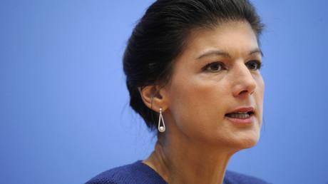 Kritisiert die Waffenexporte in die Türkei: Sahra Wagenknecht.