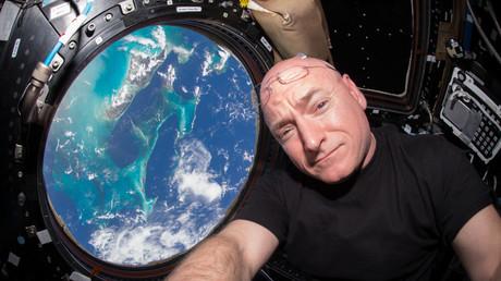 NASA-Astronaut weist nach einem Jahr im All Veränderungen in Genaktivität auf (Archivbild)