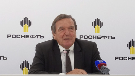 Gerhard Schröder, St. Petersburg, Russland, 29. September 2017.