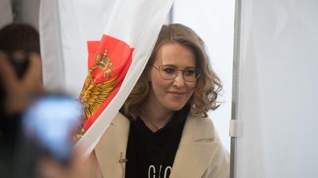 Kandidatin Sobtschak: Russen sehen keine Verbindung zwischen Korruption und Lebensqualität (Video)