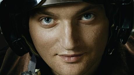 Der ukrainische Kampfpilot Wladislaw Woloschin.