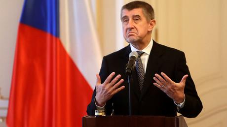 Der tschechische Premierminister Andrej Babis, Prag, Tschechien, 24. Januar 2018.