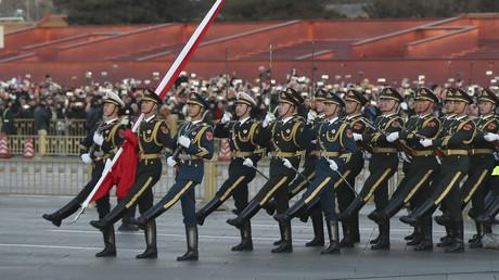 Parade der chinesischen Armee im Januar in Peking.
