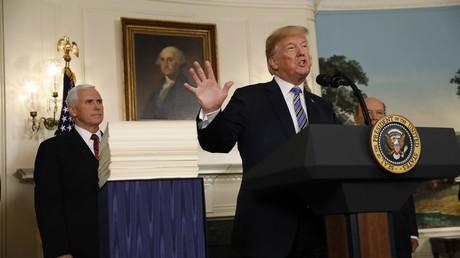 Trump unterzeichnet Ausgabengesetz trotz Vetodrohung
