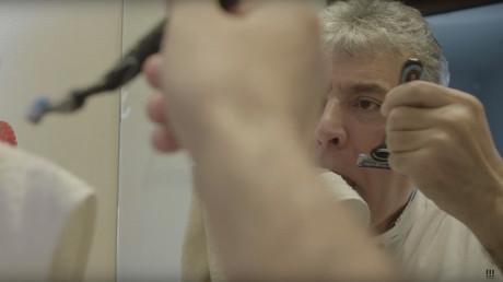 Wort eingelöst: Russlands Ex-Präsidentschaftskandidat Pawel Grudinin rasiert sich Schnurrbart ab