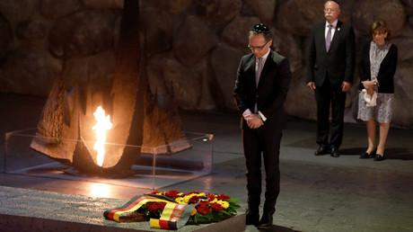 Heiko Maas beim Besuch der bedeutendsten israelischen Holocaust-Gedenkstätte Yad Vashem.