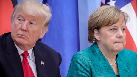 Merkel und Trump führen Telefongespräch über Zölle, China und Russland (Archivbild)